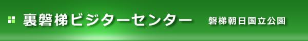 裏磐梯ビジターセンター,ロゴ